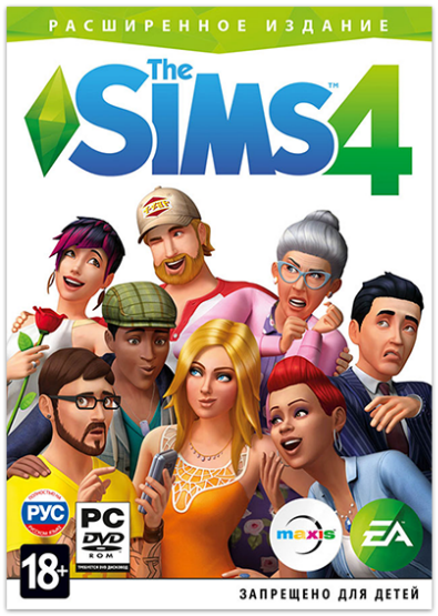 The Sims 4: Deluxe Edition  [v 1.67.45.1020 + DLC] (2014) PC | RePack от xatab